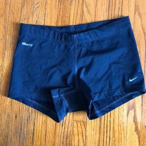 Nike Navy XS Spandex Shorts